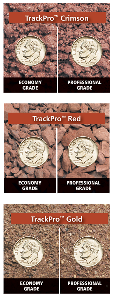 TrackPro is available in three colors in both economy and professional grades.